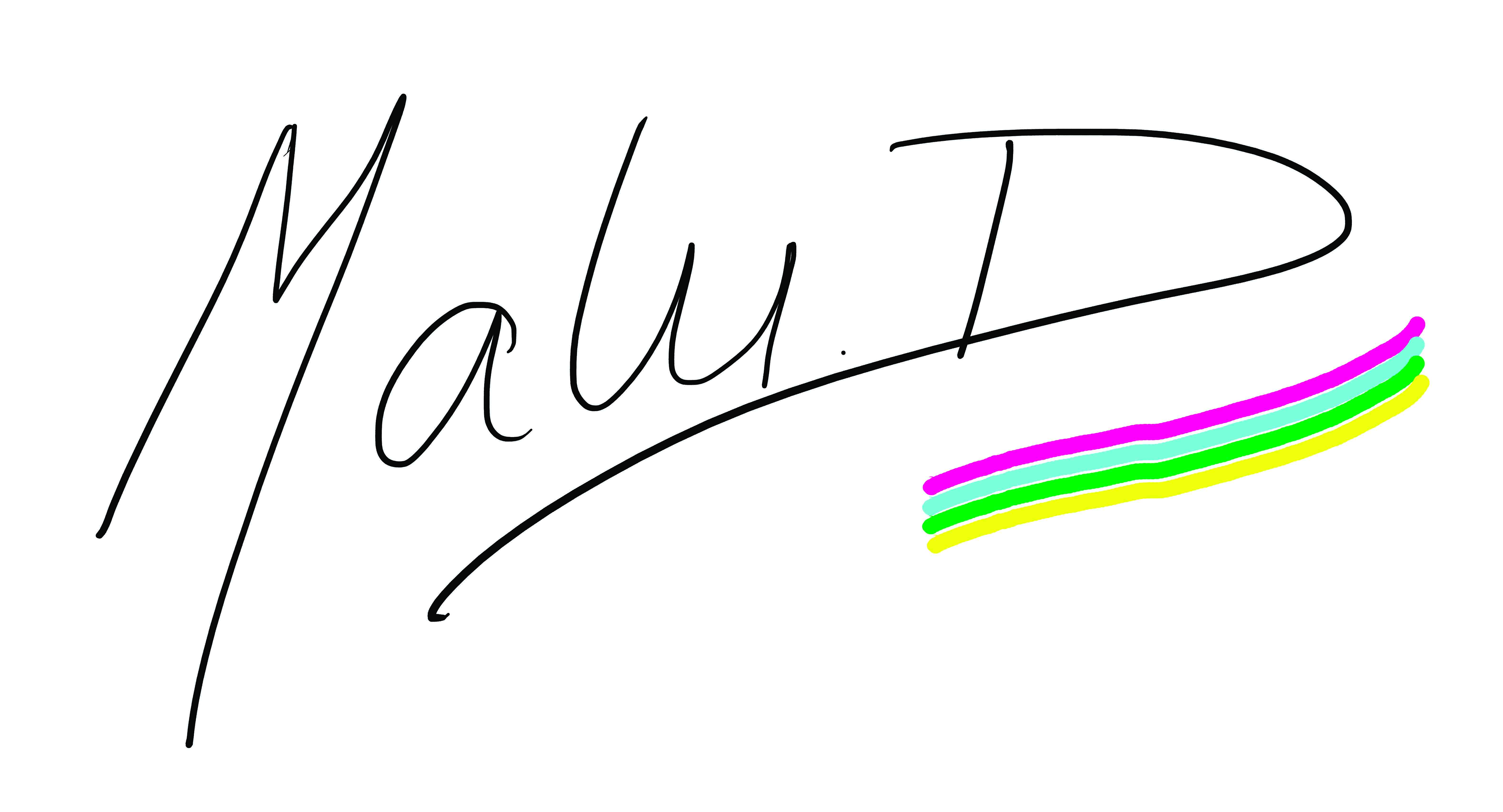 Maria Luisa Di Bella's Signature