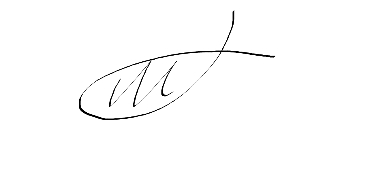 Janet Welsby's Signature