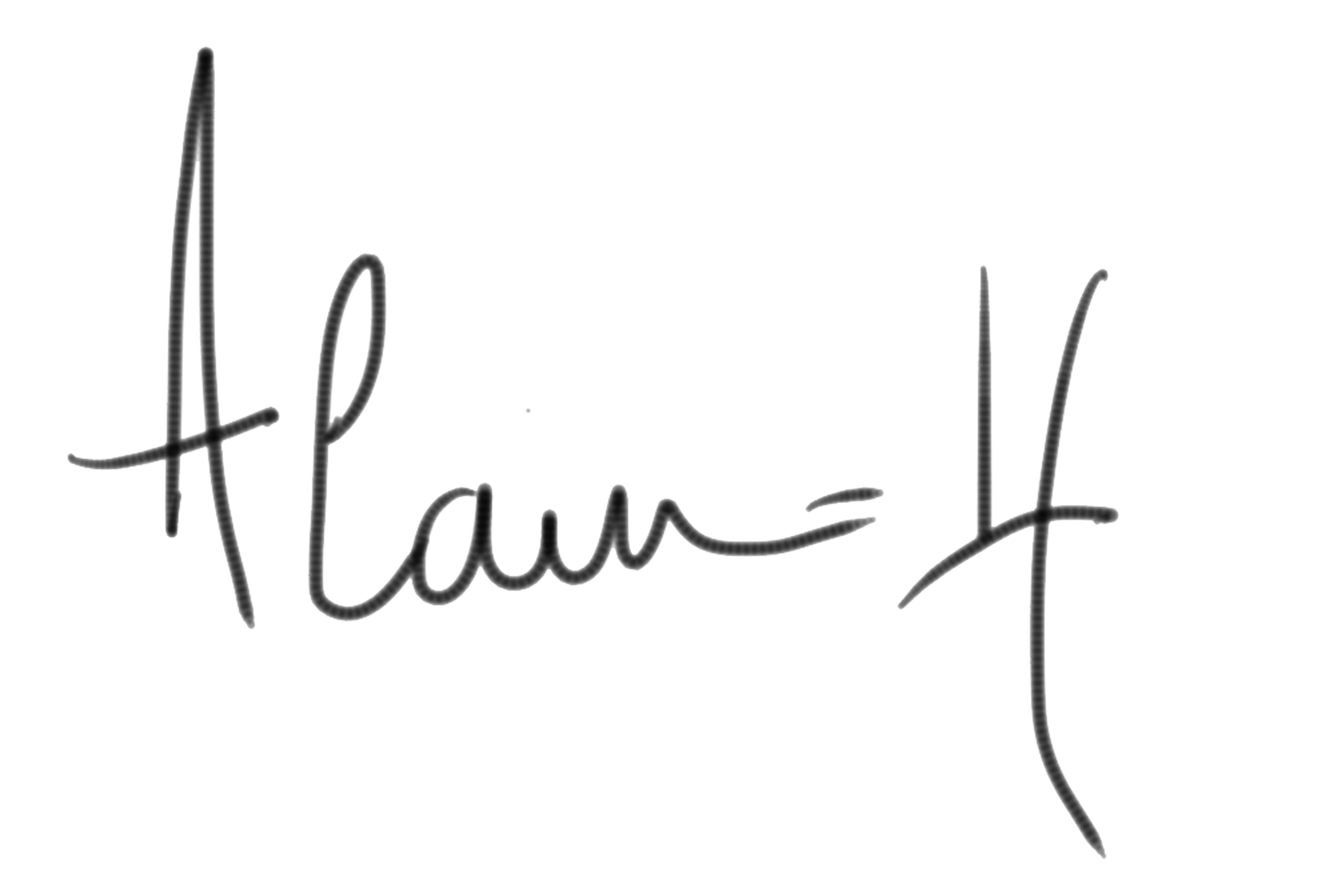 Alain-H Guyot's Signature