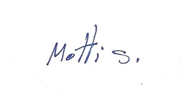 Motti Shoval's Signature