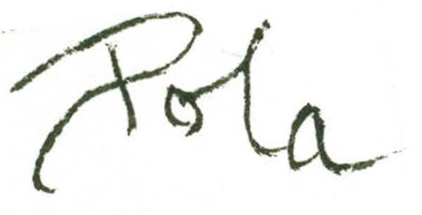 Pola lAnzaro's Signature