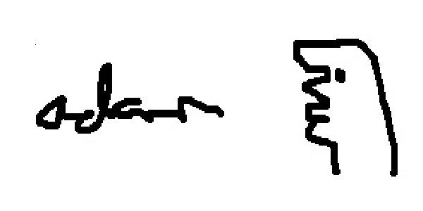 Adam Sachs's Signature