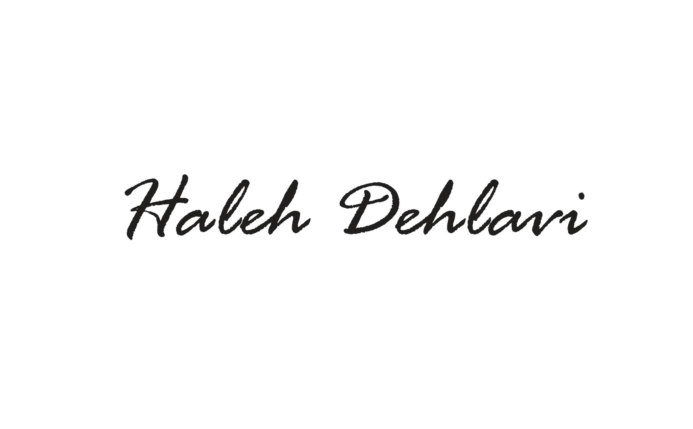 Haleh Dehlavi's Signature