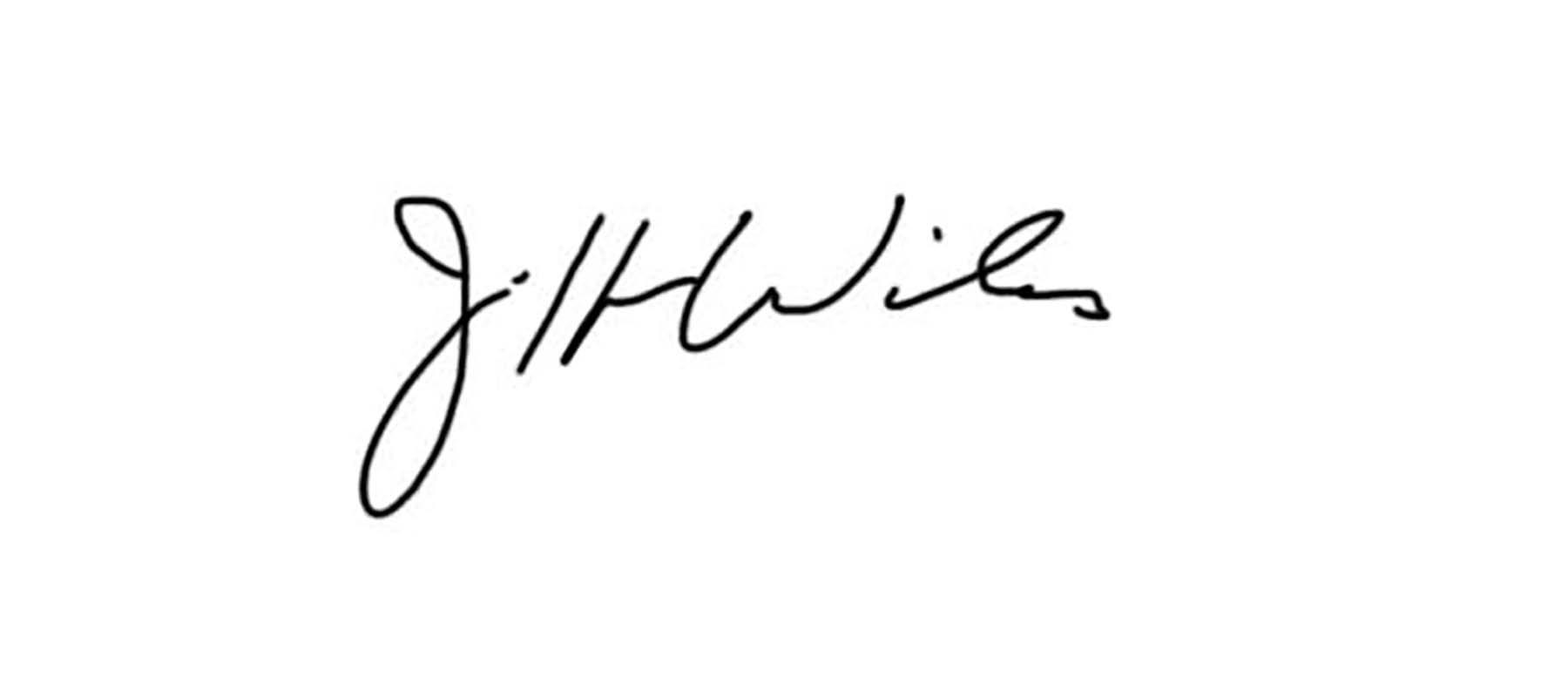 Jeff WILES's Signature