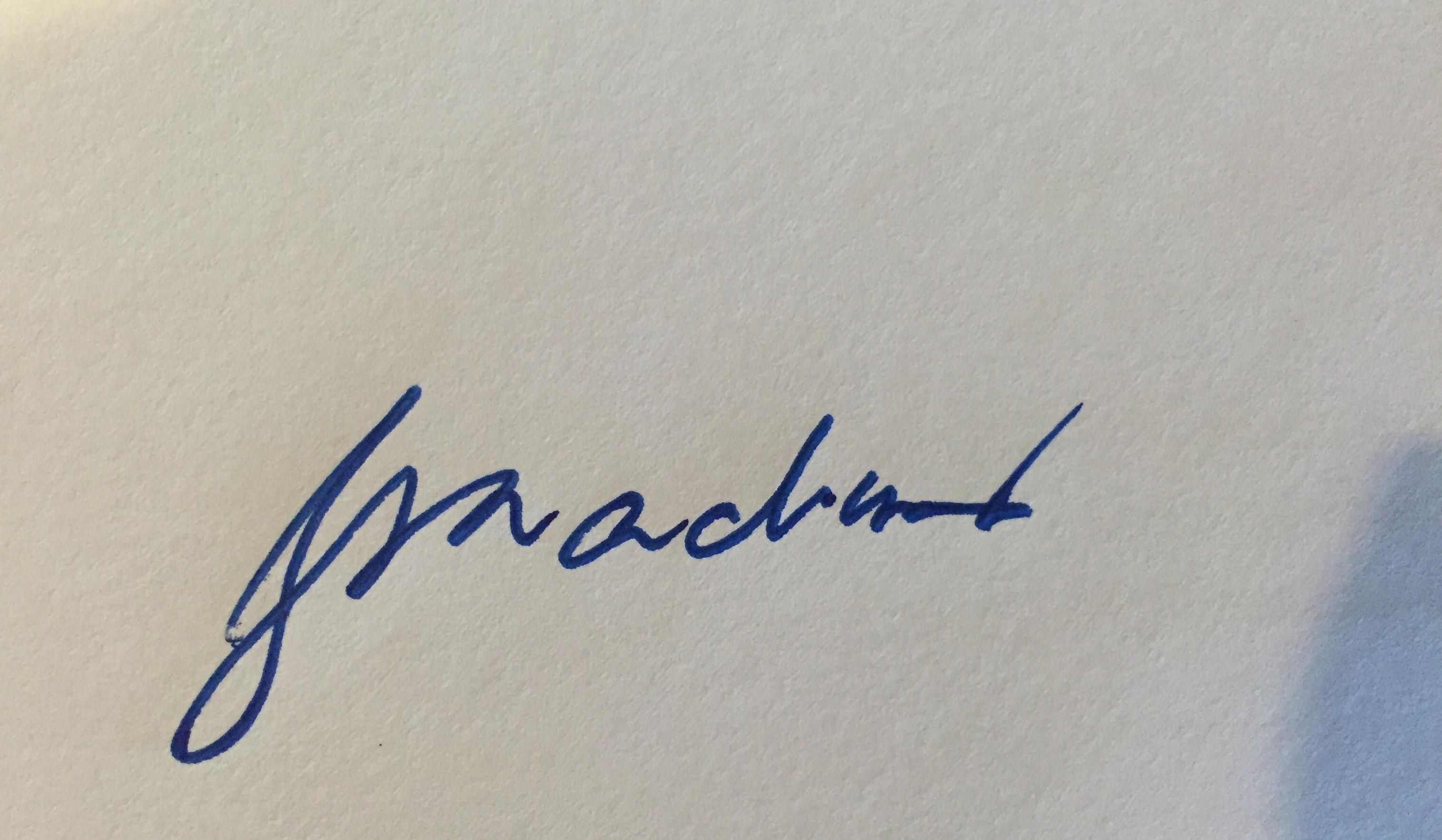jay Maclean's Signature