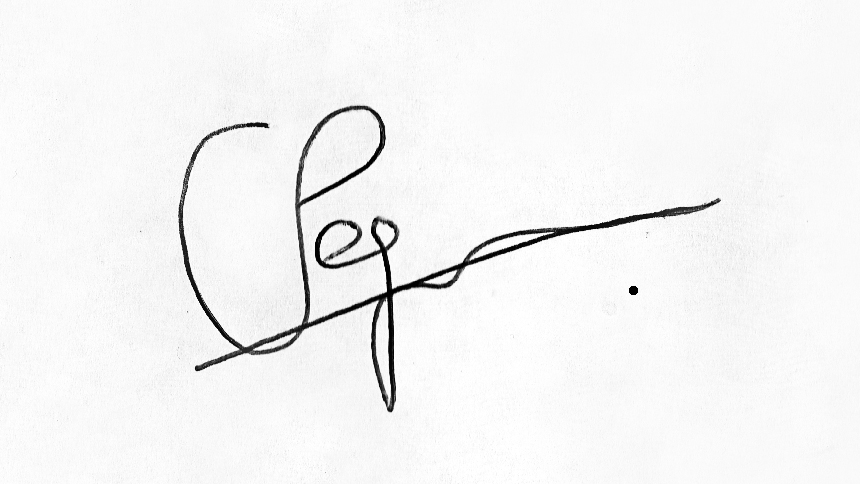 chris pegman's Signature