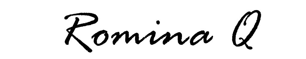 Romina Q's Signature