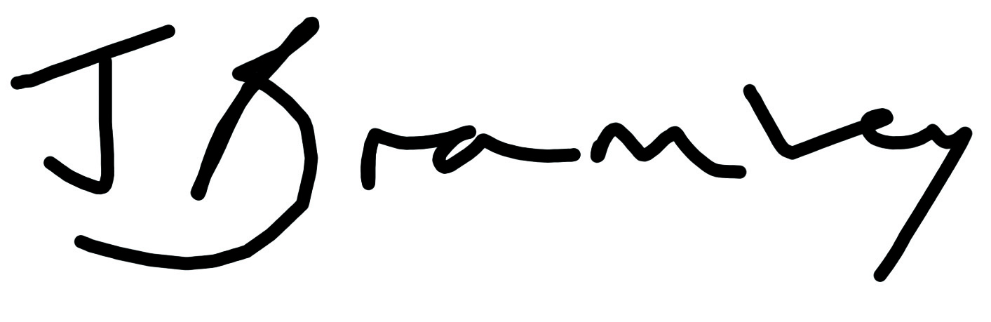 Julie Bramley's Signature