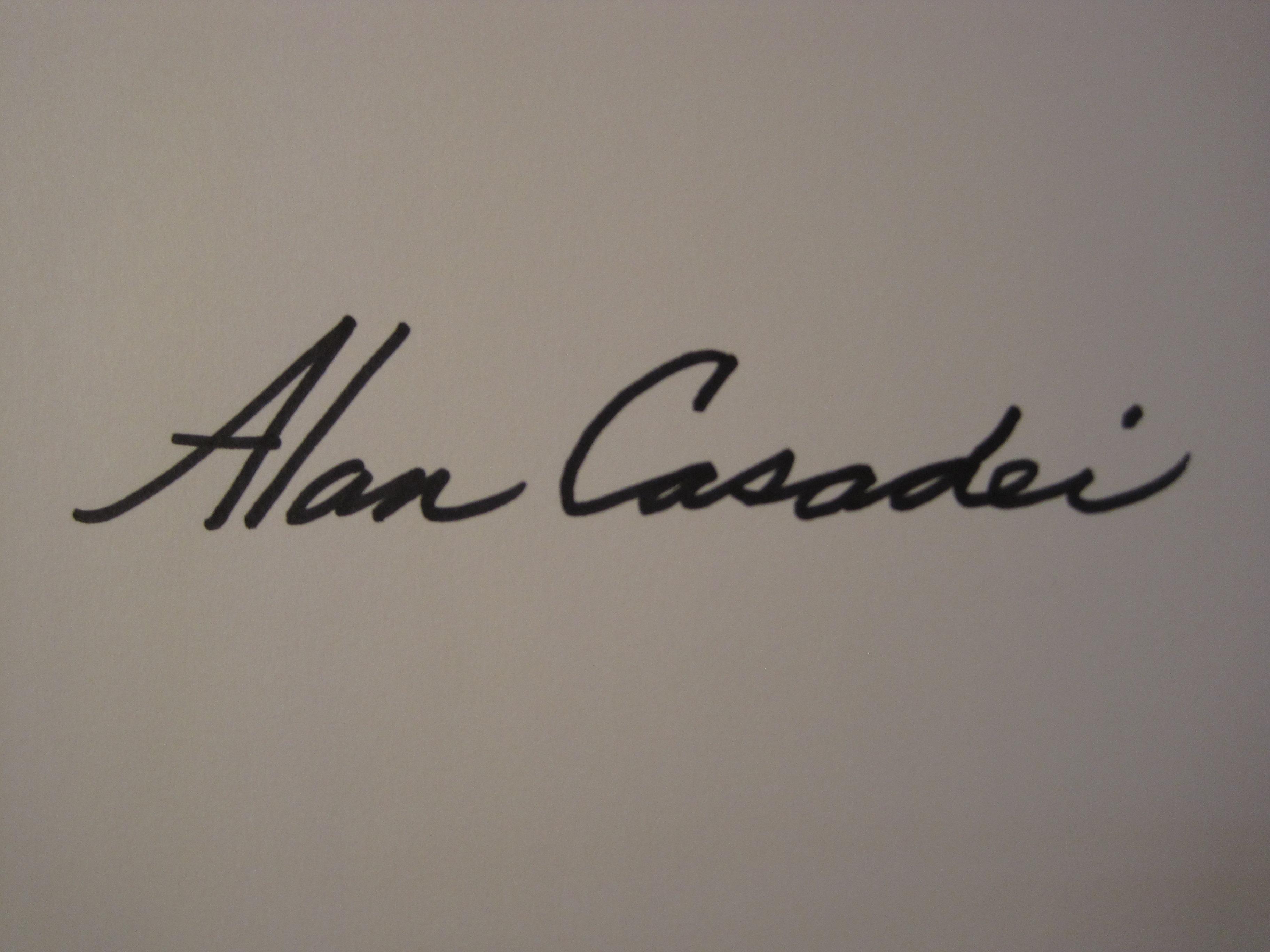 Alan Casadei's Signature