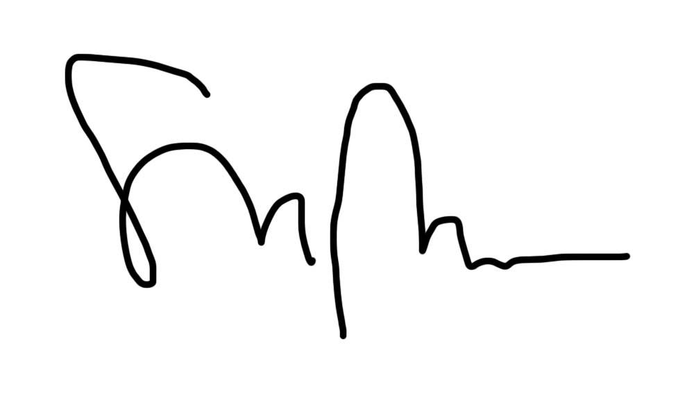 Isabelle Boucher's Signature