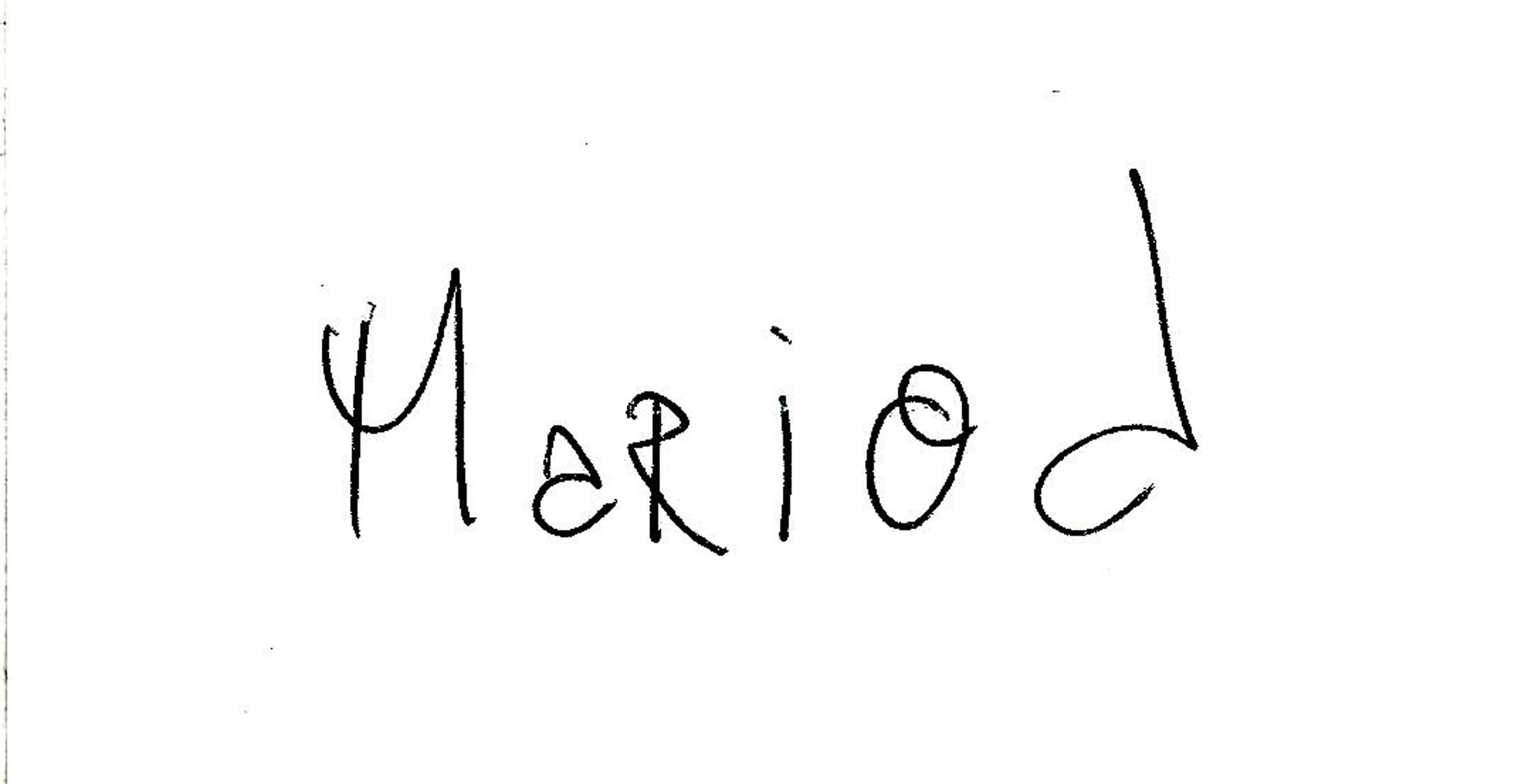 Mario Deschenes's Signature