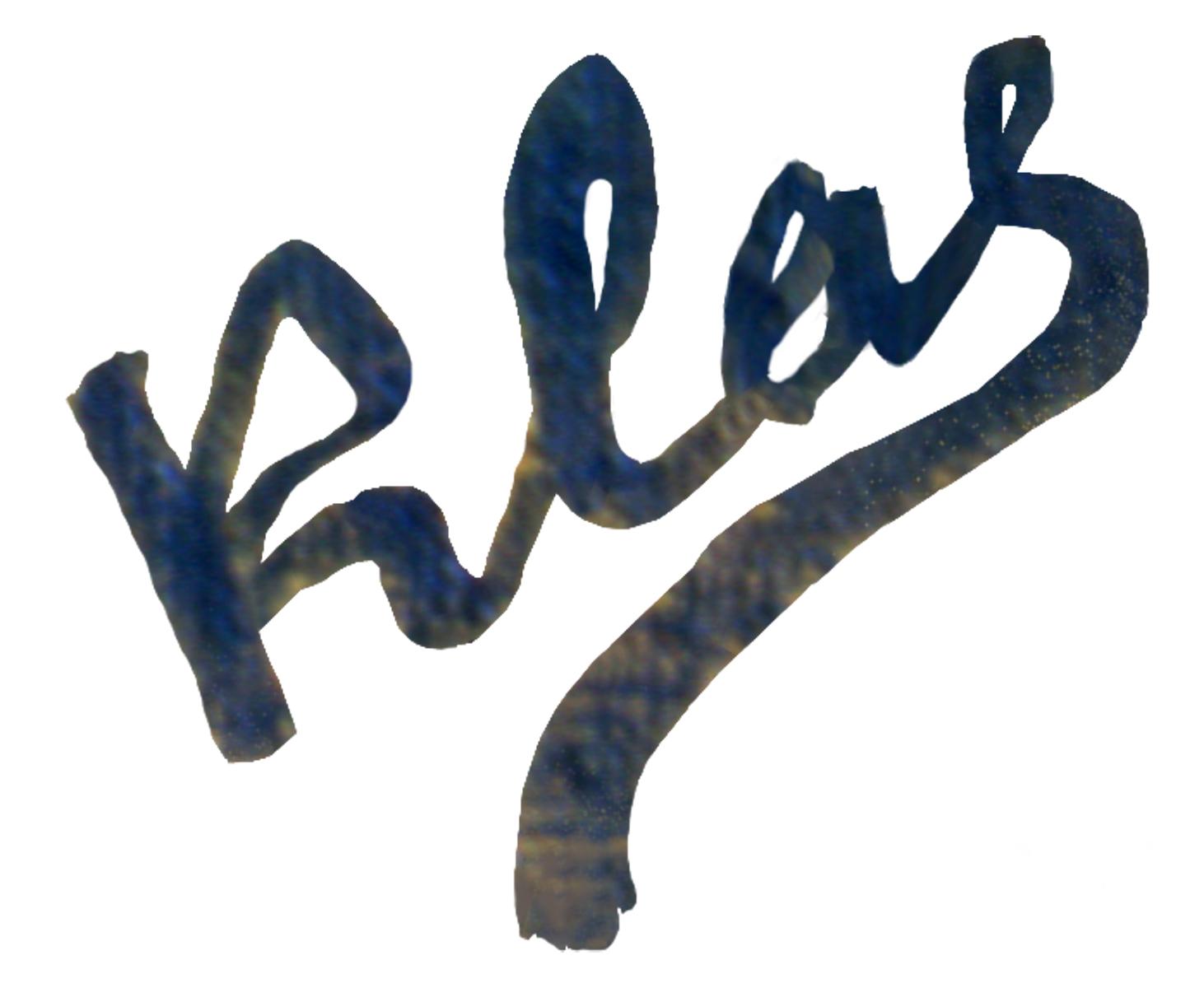 Alex Klas's Signature