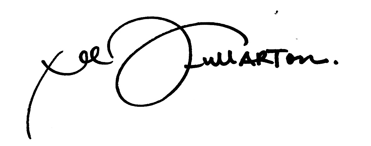 Lee FullARTon's Signature