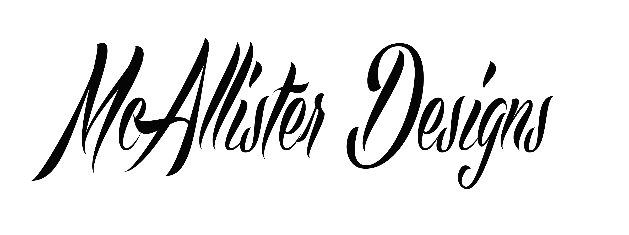 mcallister designs's Signature