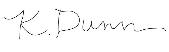 Kari Dunn's Signature