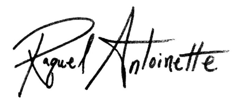 Raquel Antoinette's Signature