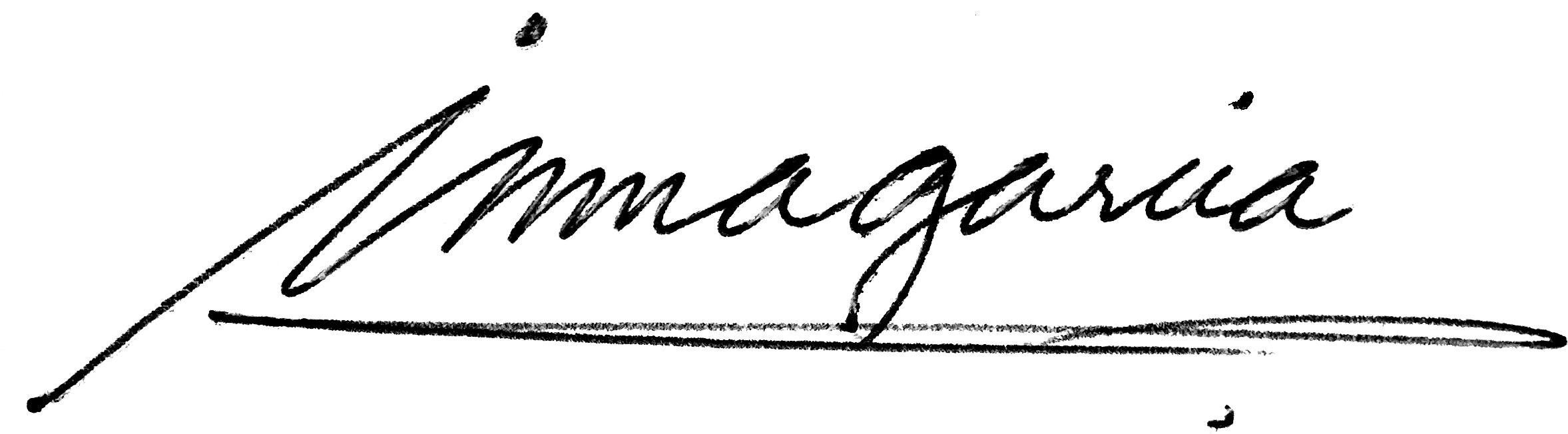 Inma Garcia's Signature