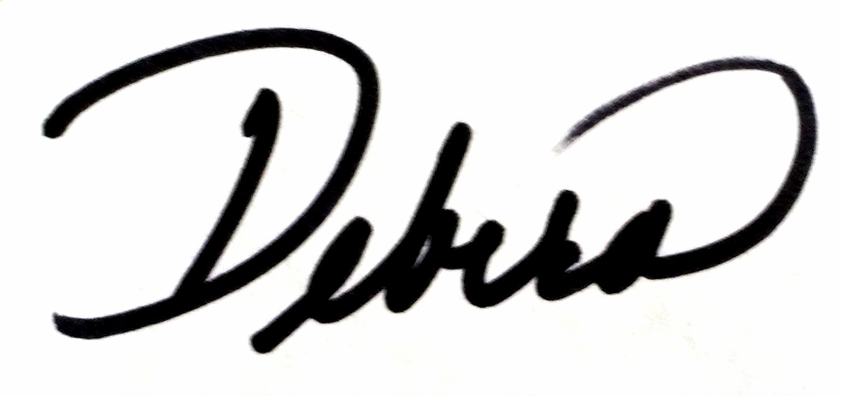 Debra Fishpaw's Signature