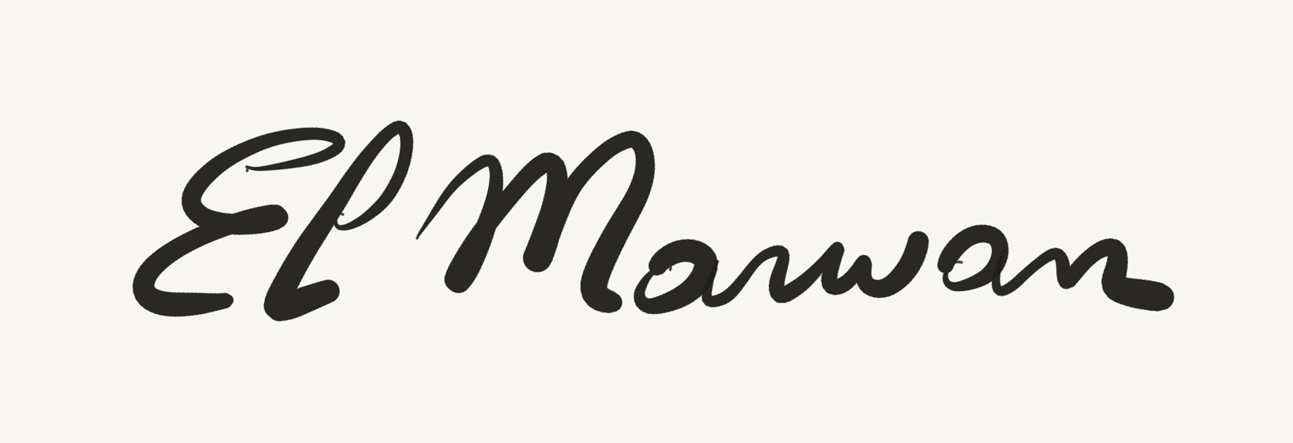 Marwan El Hassan's Signature