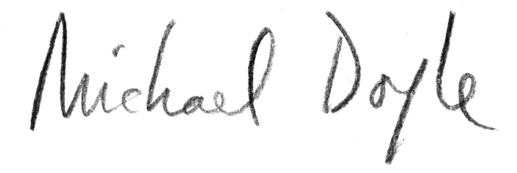 Michael Doyle's Signature