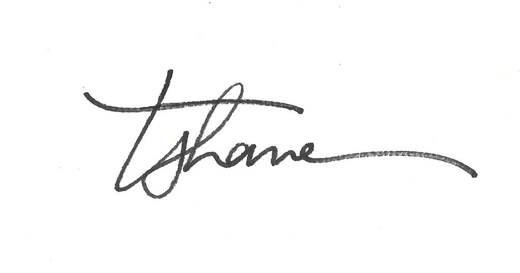 Tammy Shane's Signature