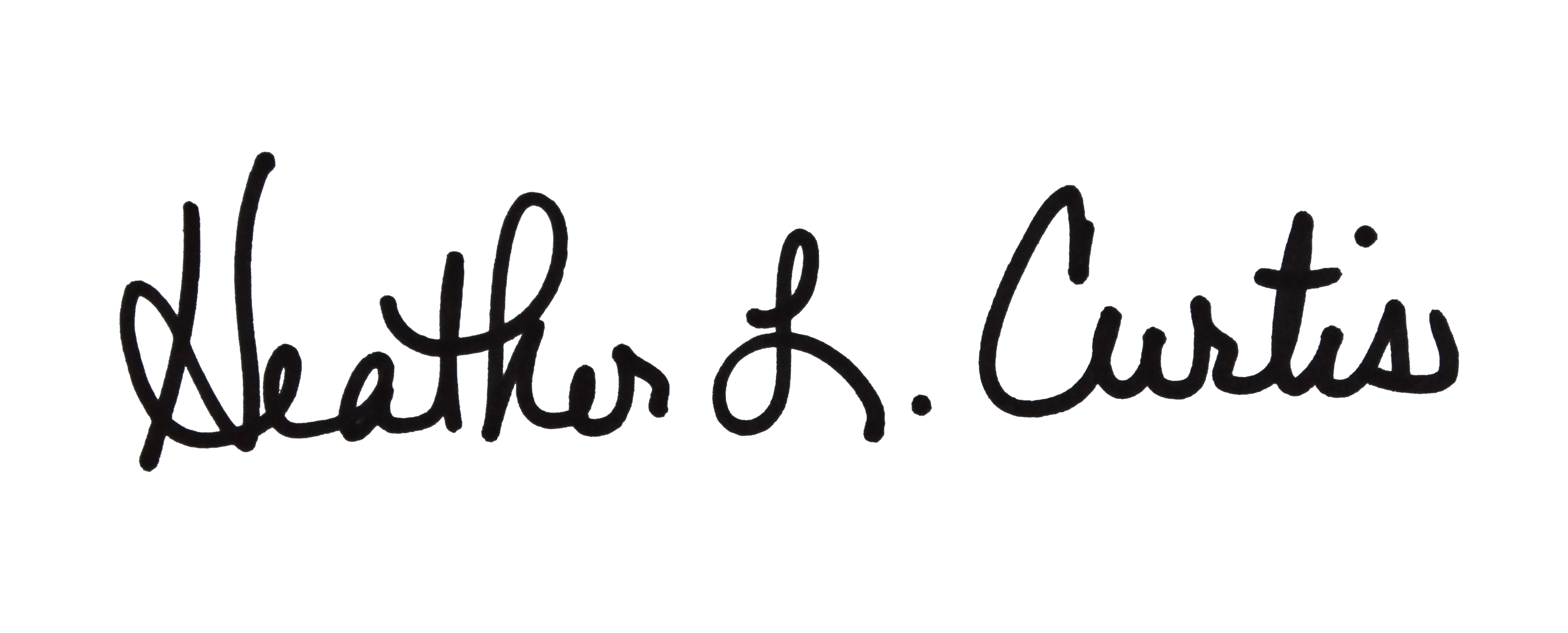 Heather Curtis's Signature