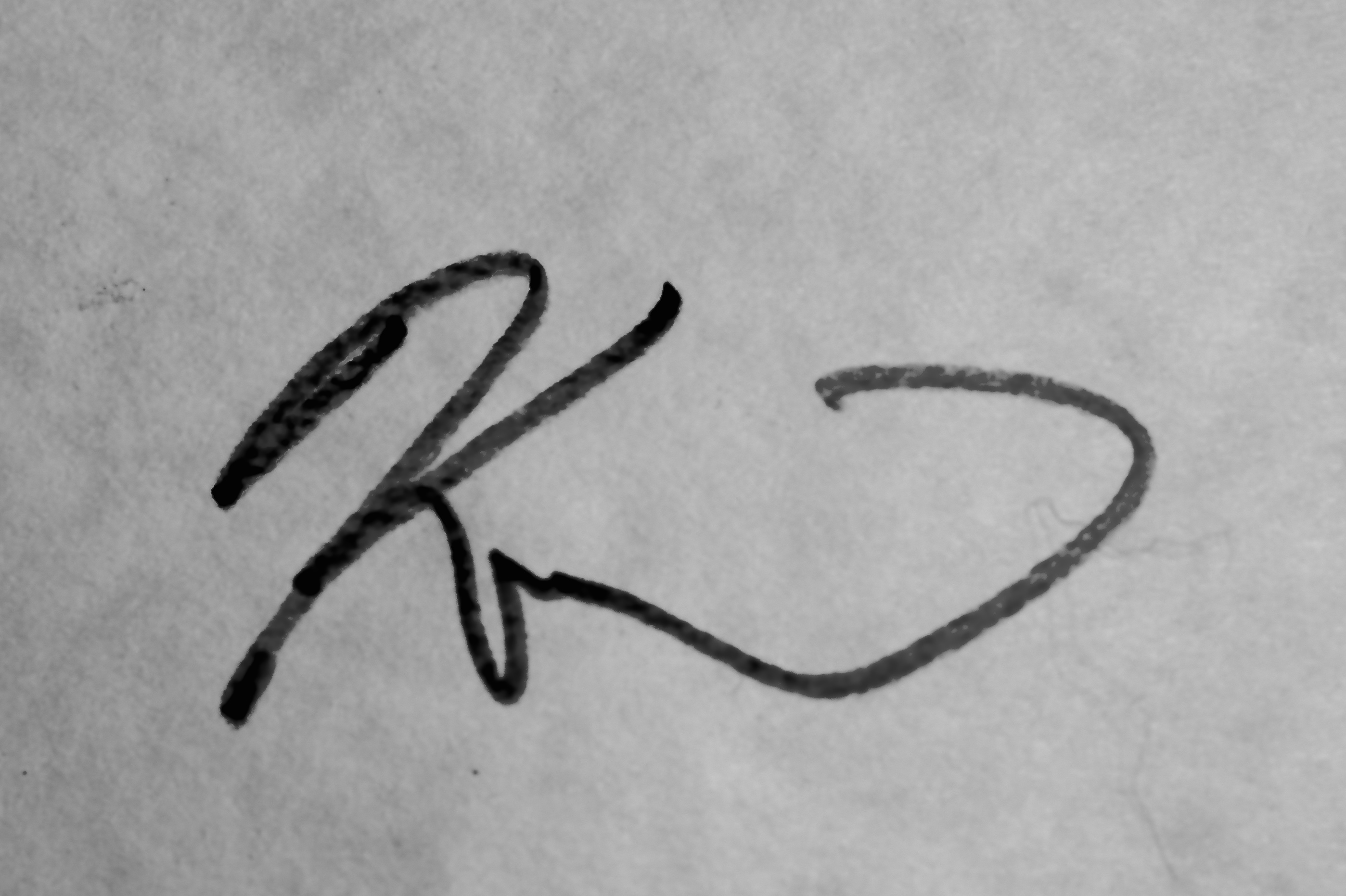 Kurt Garrison's Signature