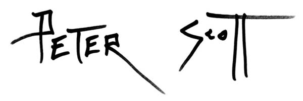 peter Scott's Signature
