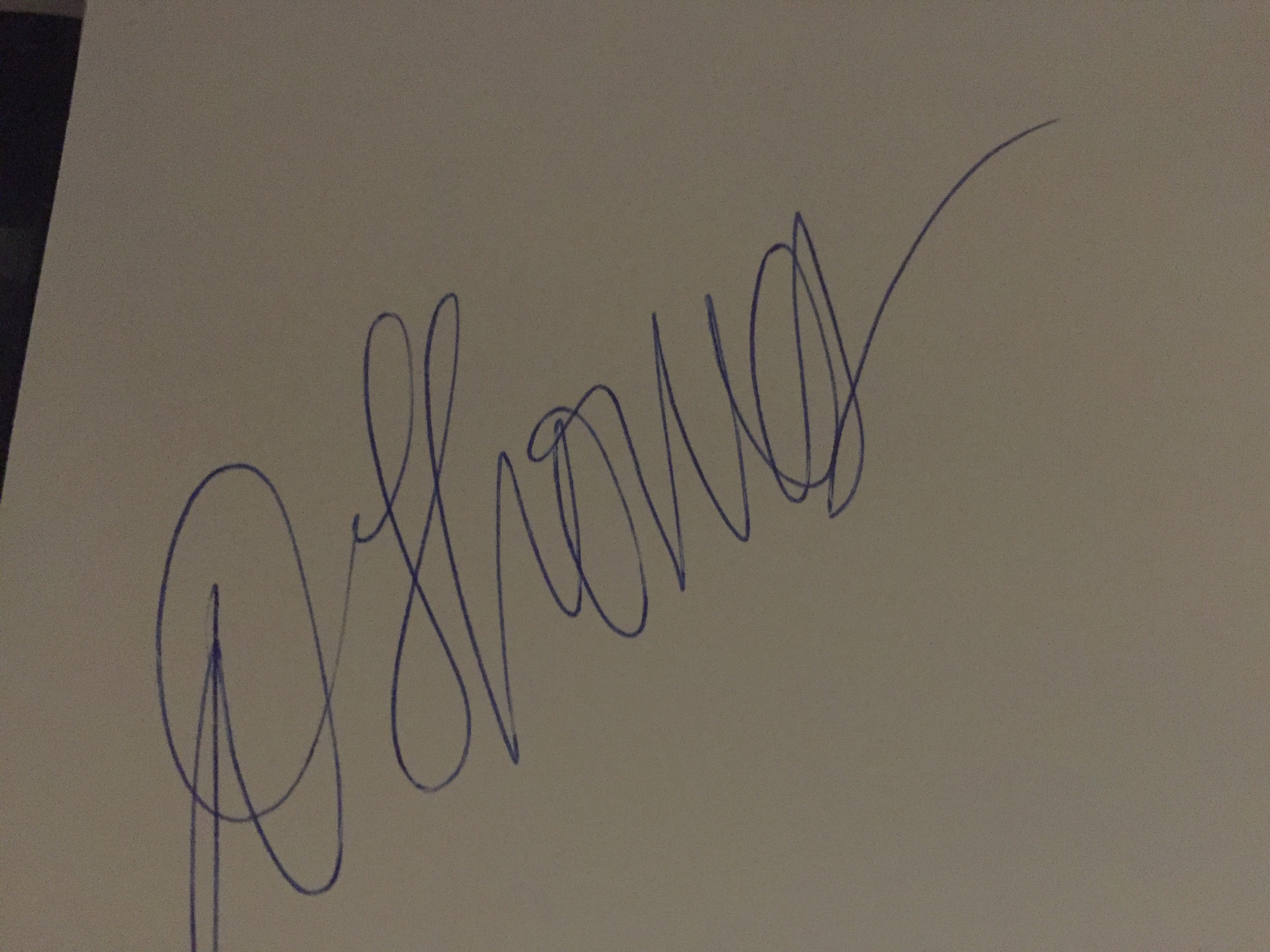 Dawn thomas's Signature
