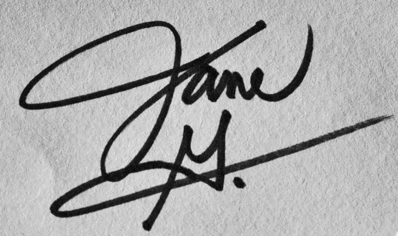 Jane Geist's Signature