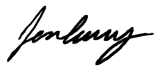jon curry's Signature