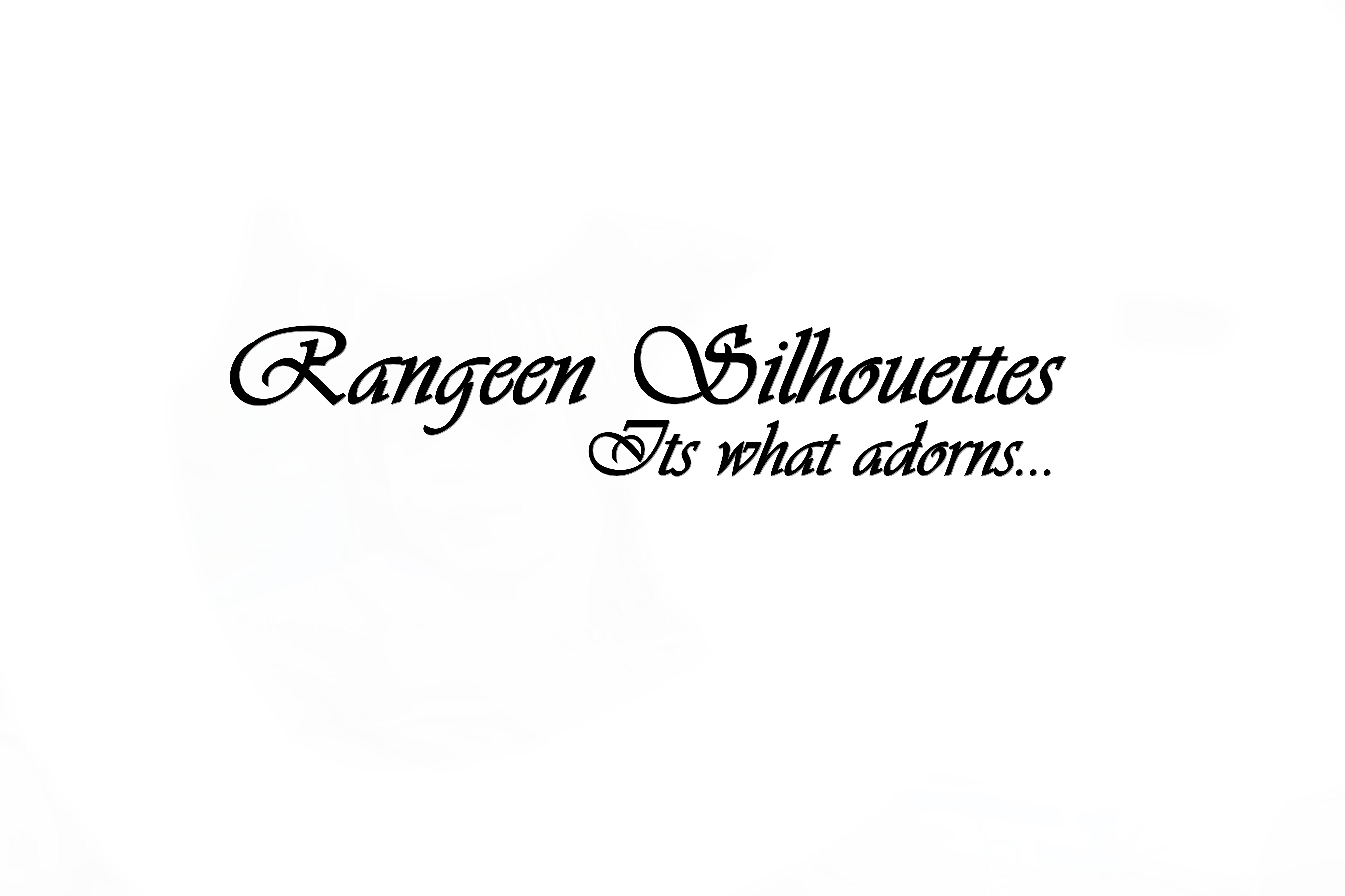 Rangeen silhouettes's Signature