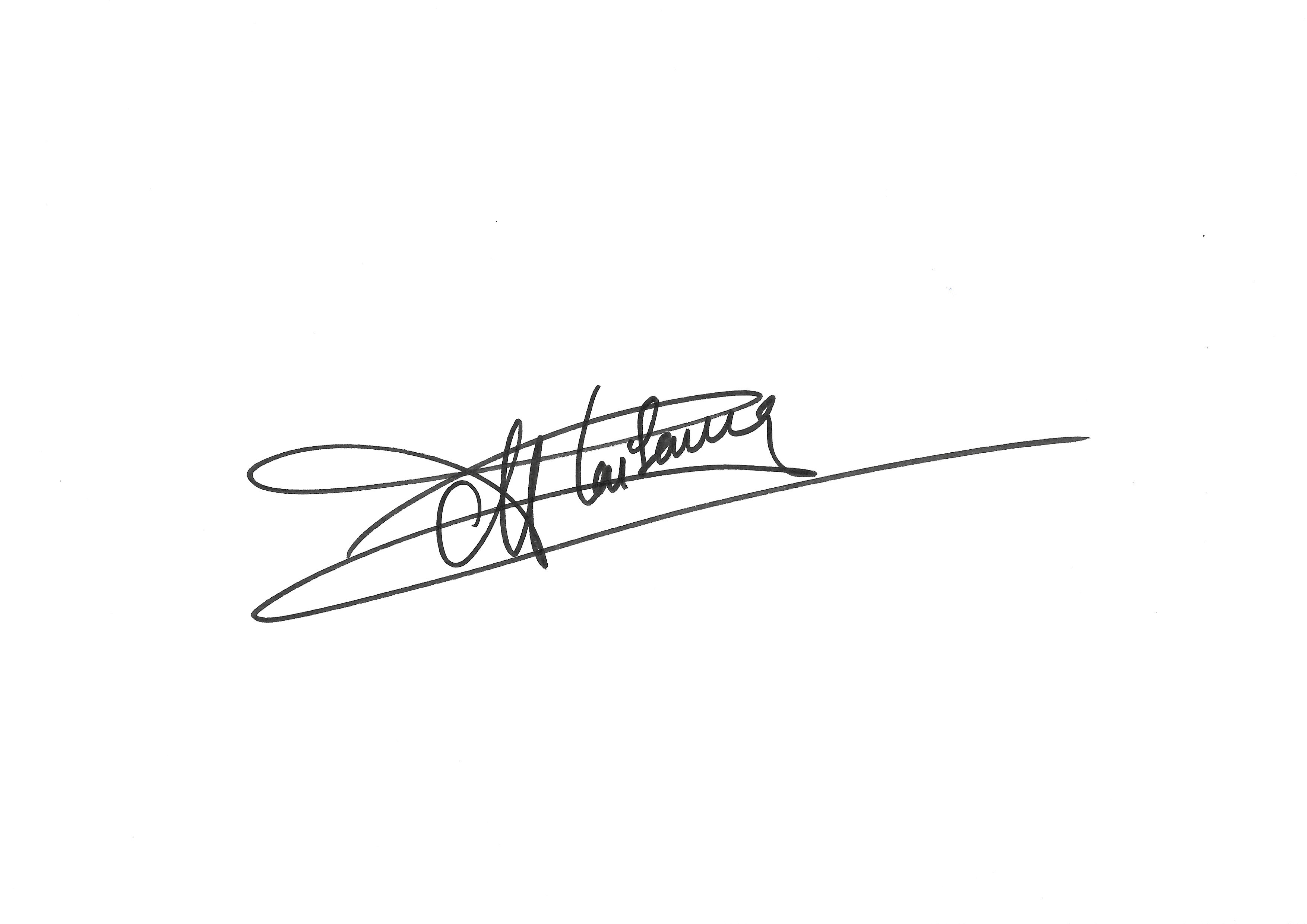 Anne Plaisance's Signature