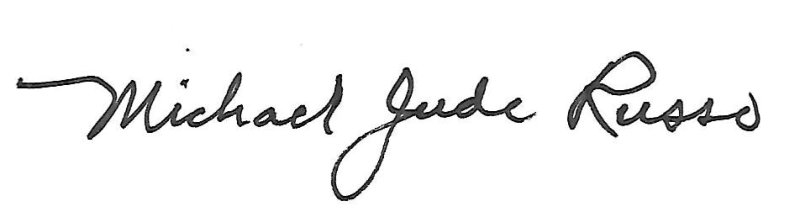 Michael Jude Russo's Signature