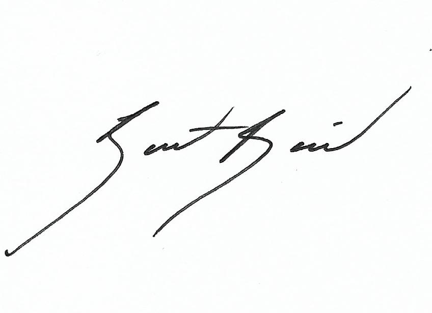 Bart Baird's Signature