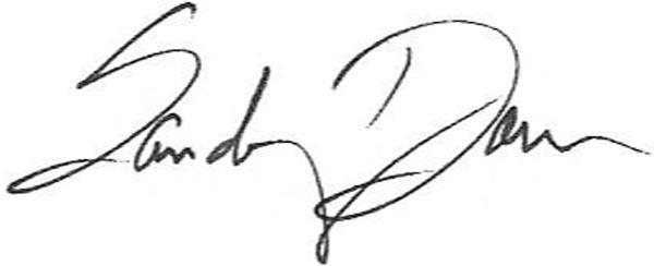 Sandy Donn's Signature