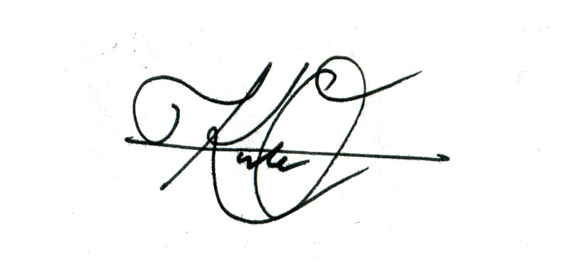 Kate O'Keefe's Signature