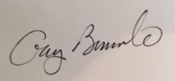 Gary Bernardo's Signature