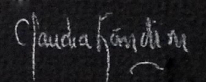 claudia landini's Signature