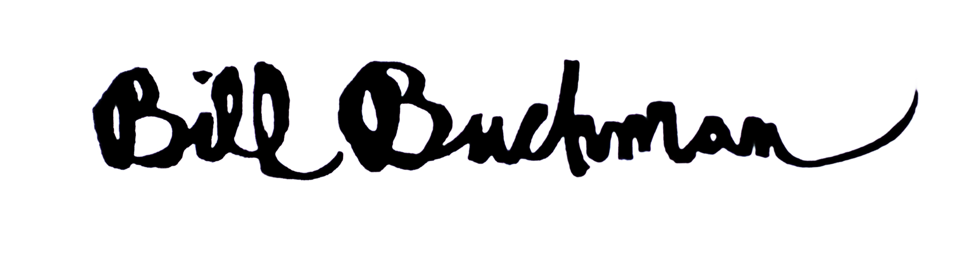Bill Buchman's Signature