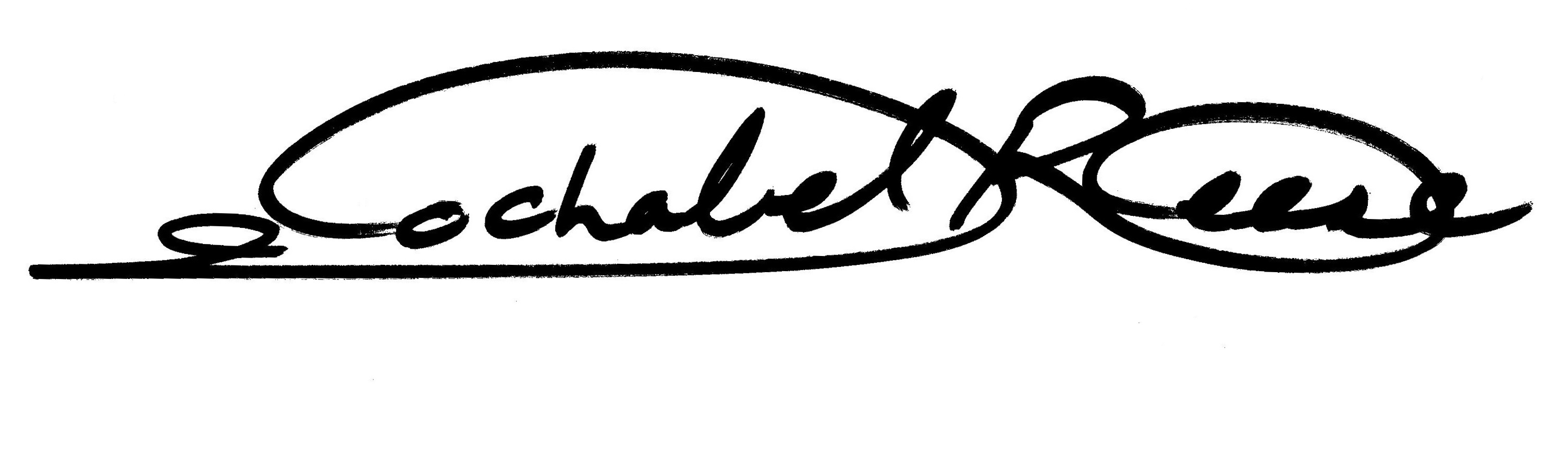 Jochabel Reese's Signature