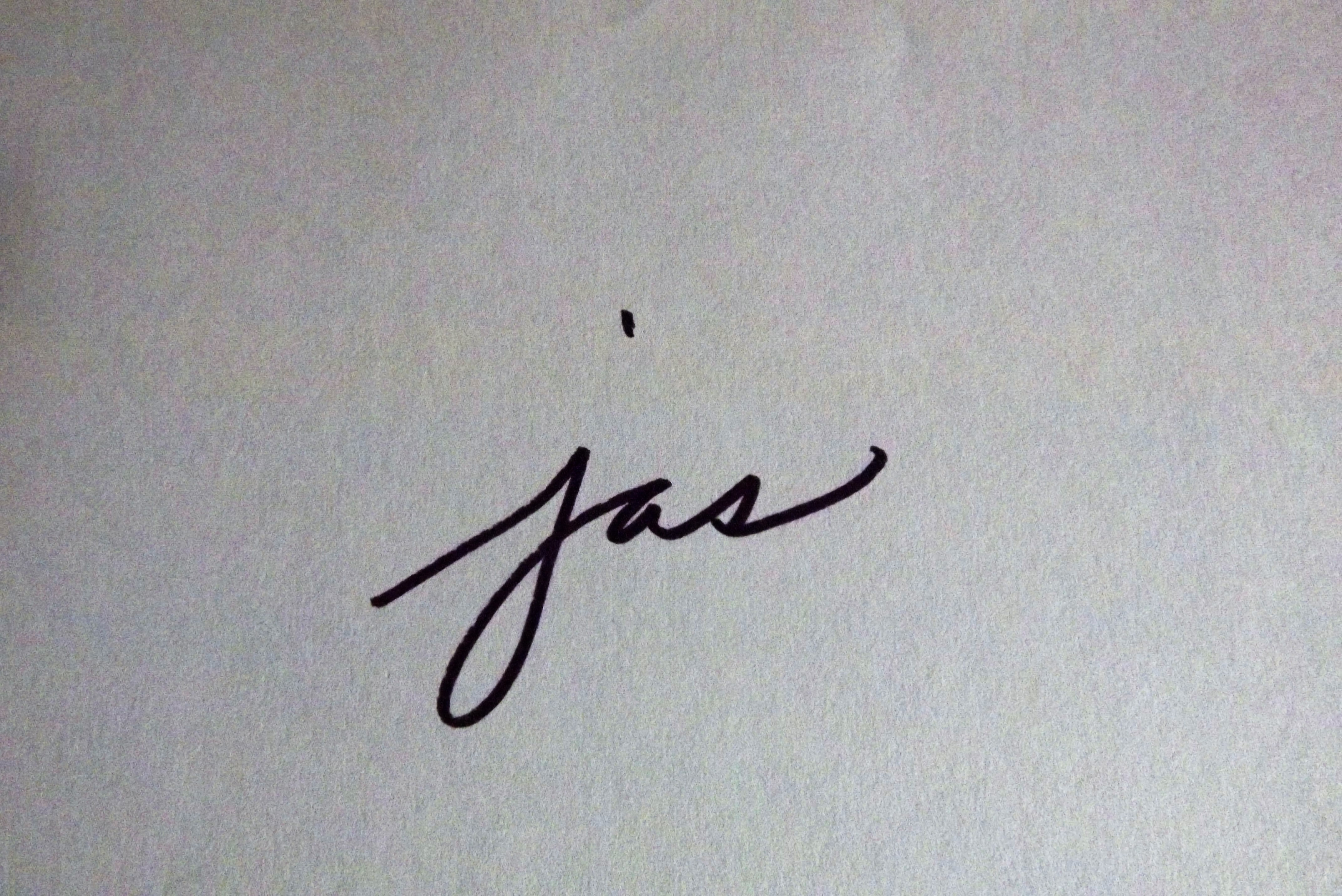 Jennifer Sroufe's Signature