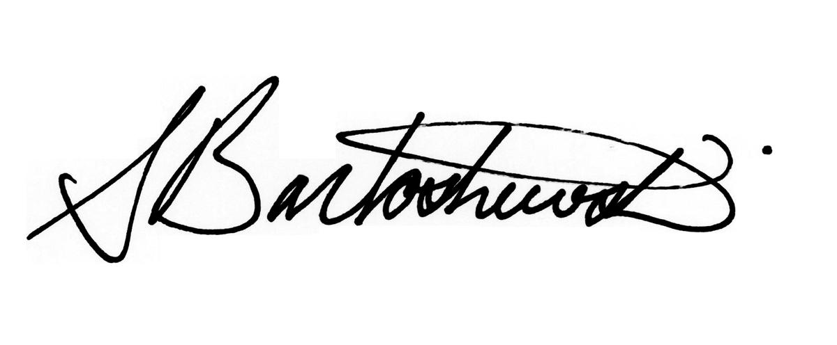 Shannon Bartoshewski's Signature