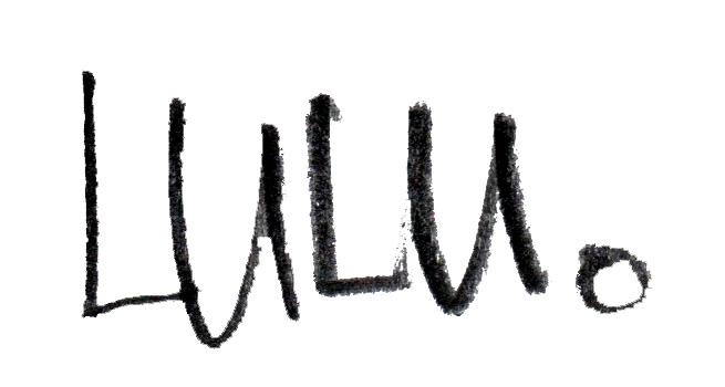 Lulu Zhou's Signature