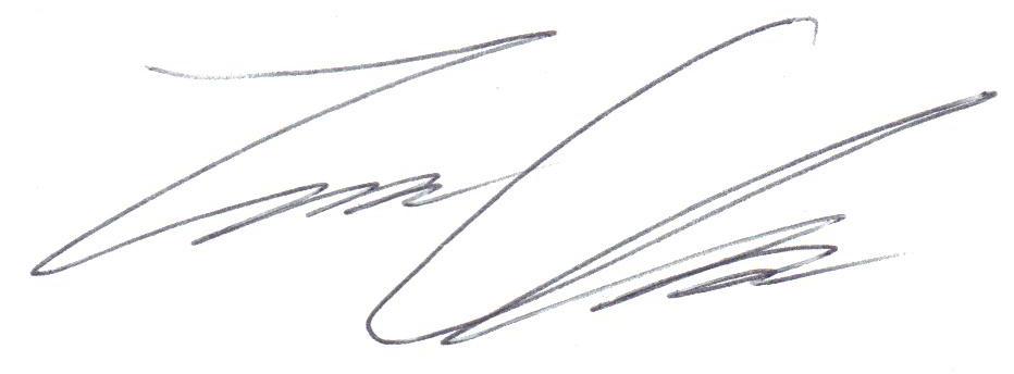 Travis  Clark's Signature
