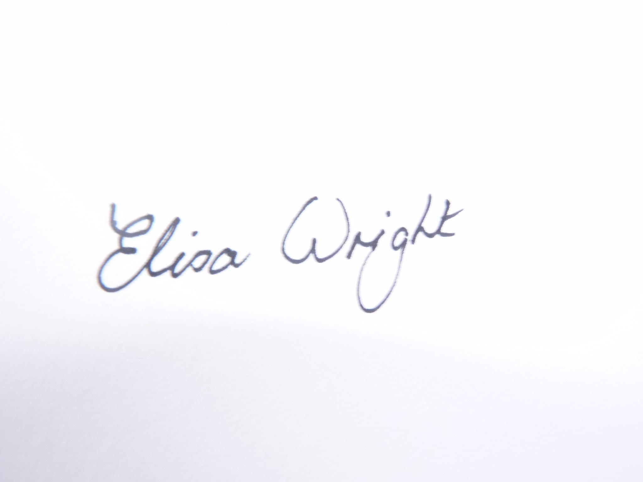 Elisa Wright's Signature