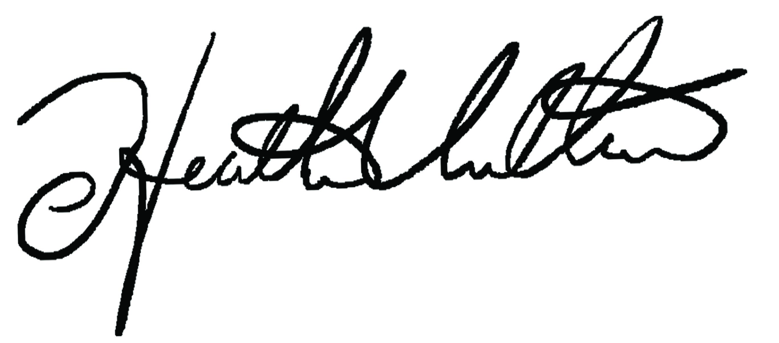Heather Villari's Signature