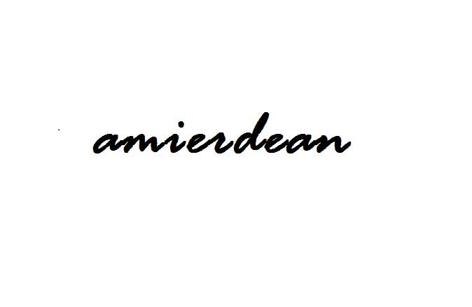Amier Dean's Signature