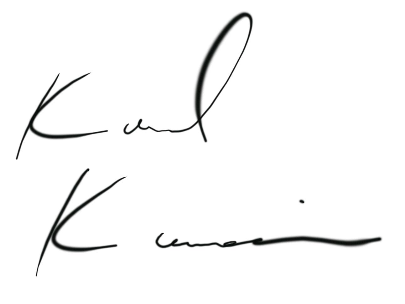 Karl Kanai's Signature