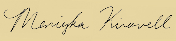 Meniyka Kiravell's Signature